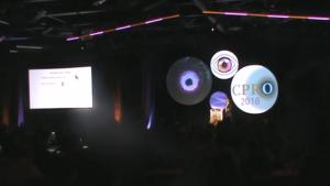 Conférence donnée par un ergonome à Montréal, au Palais des Congrès