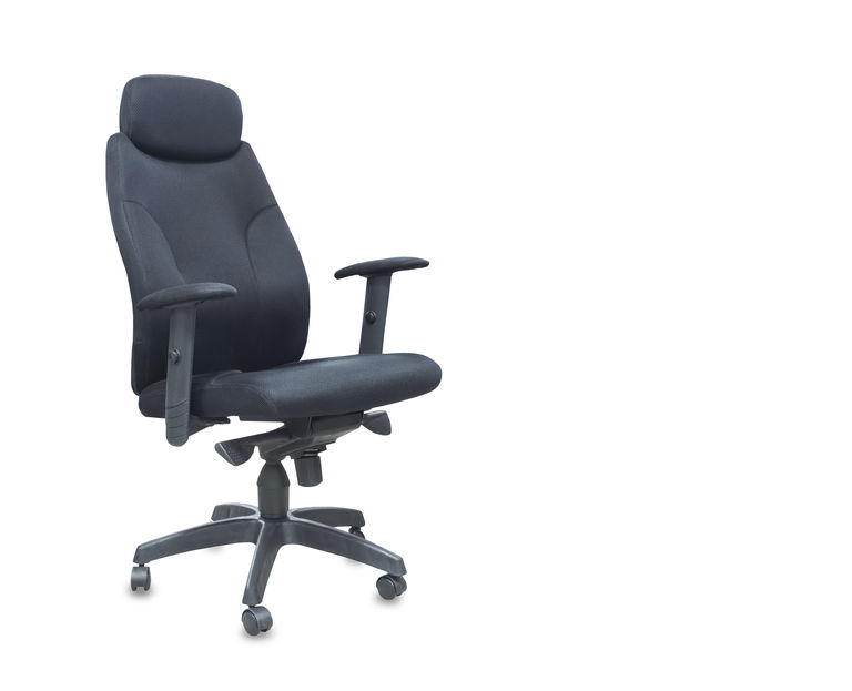 Ergonomic chair to help reduce lower back pain at the office
