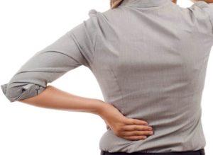 Douleur au dos au bureau