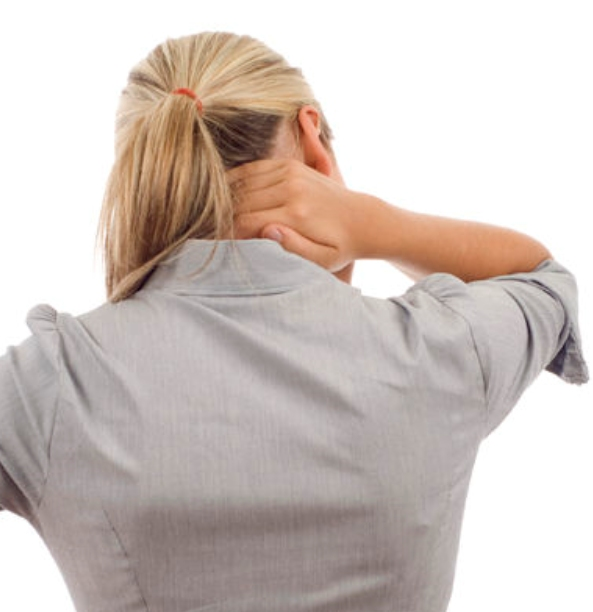 Douleur au cou au bureau