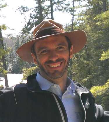 Emmanuel Benoit, ergonome avec chapeau