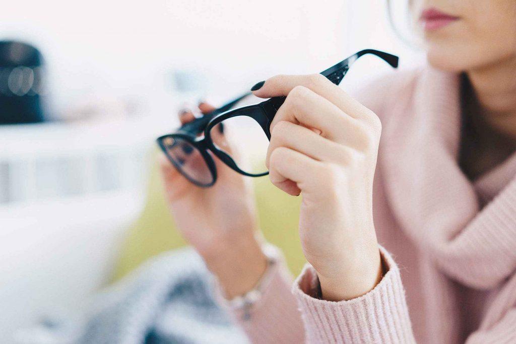 Lunettes pour éviter la fatigue visuelle
