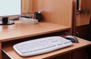 Support à clavier